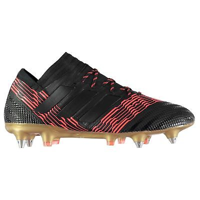 adidas Nemeziz 17.1 SG Soft Ground Football Boots Mens Black Soccer Shoes  Cleats abf38bfdd