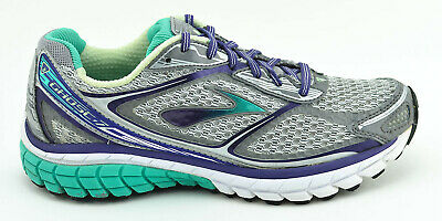 ea6eafd622480 Womens Brooks Ghost 7 G7 Running Shoes Size 7.5 Us 38.5 Eu Gray Purple Green