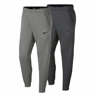 efe0cd33e630 Nike Therma Dri Fit Tapered Training Pants Mens Grey Heather NEW 932255