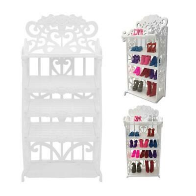 Kids Play House Mini Shoe Cabinet for s Classic Dollhouse Furniture  for Child