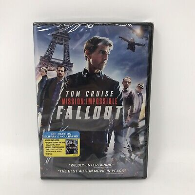 Mission: Impossible - Fallout DVD 2018 New Sealed FREE Shipping!