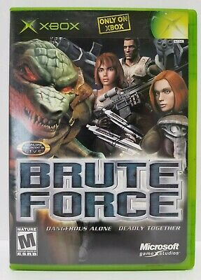 Brute Force: Xbox videogame - Complete - Near Mint condition + Warranty