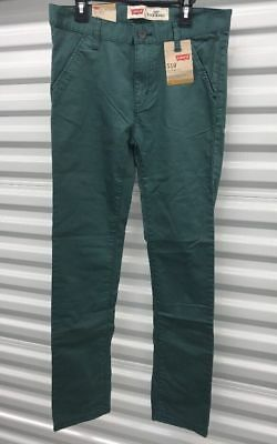 NEW Levis 510 Super Skinny Boys Jeans Pants Water Front 14 Reg 27x27 FREE SHIP
