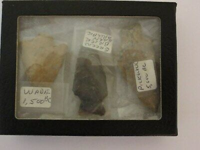 Arrowheads Pickwick 5,000 BC Wade 1,500  BC & Green Brier Early Archaic