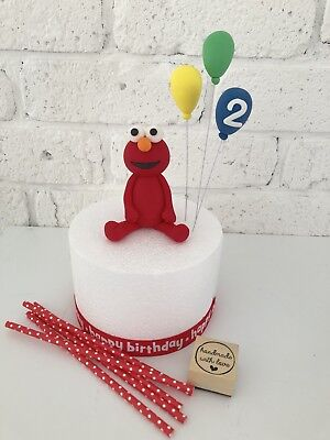Edible Elmo Topper Balloons For Elmo Birthday Cake Toppers First Birthday
