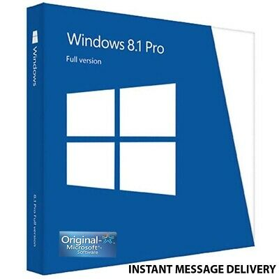 Windows 8.1 Pro 32 / 64bit Professional License Key Original instant shipping