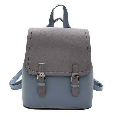 Tassel Decorated Women Small Backpack PU Leather School BagOM184