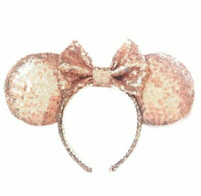 Minnie Mouse Ears Rose Gold Authentic Disney