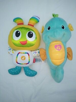 Fisher Price Soft Light Up Beat Bo & Soothing Sounds Soft Light Sea Horse