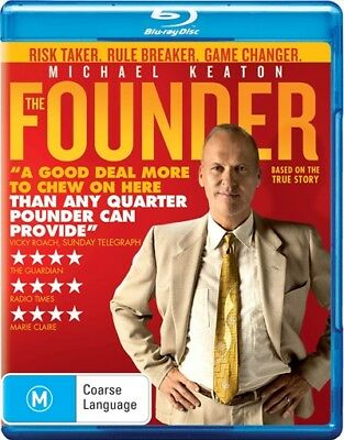 The Founder : NEW Blu-Ray