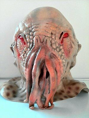 Doctor Who Movie Horrible Ood Latex Mask Octopus Halloween Carnival Cosplay