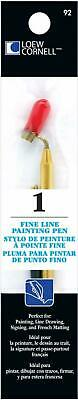 Loew-Cornell Fine Line Painting Pen 1-Pack Creates Fine Painted Lines A-1/2mm