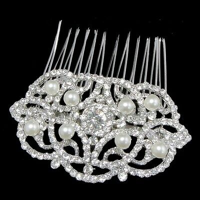 Vintage inspired bridal/wedding charlotte chic beauty hair comb