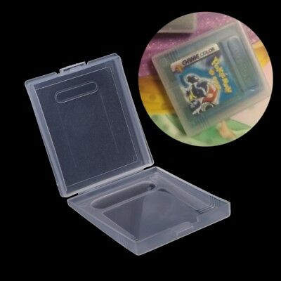 5x Clear Plastic Cartridge Game Case Dust Cover for Nintendo Game Boy GB GBC GBP