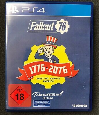 Fallout 76 Tricentennial Edition PS4 Playstation 4 NEUwertig