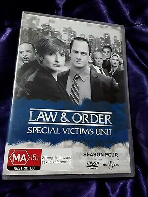Law And Order SVU Special Victims Unit: Season 4 (DVD) NEW SEALED