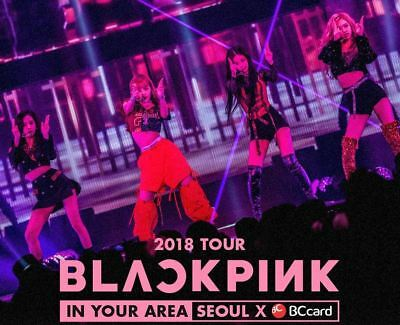 Blackpink 2018 Tour In Your Area Seoul Official Goods Scrap Book Sealed