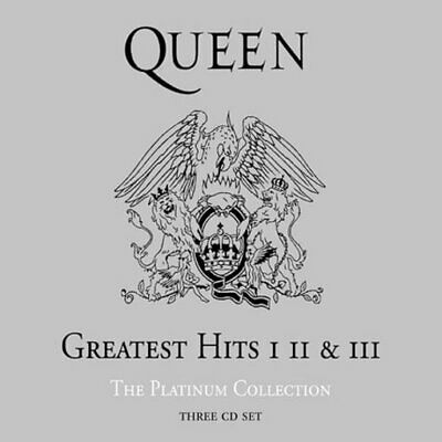Queen: Greatest Hits I, II & III: Platinum Collection (3-CD) Original recording