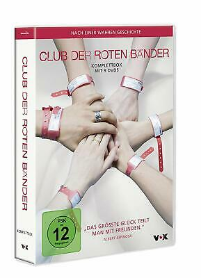 9 DVD Box CLUB DER ROTEN BÄNDER Komplettbox NEU  TV Serie 1 - 3 Staffel  1 2 3
