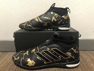 cheap for discount 52ad4 16973 adidas Paul Pogba Ace 17+ PureControl TF Turf - LACELESS -BlackGold -