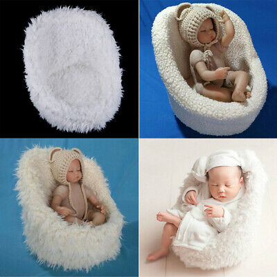 Newborn baby photography props mini posing sofa chair seat photo props  ^S