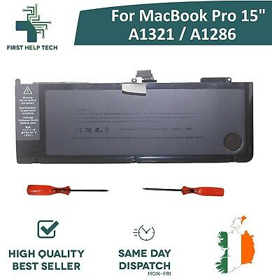 "For Apple MacBook Pro Unibody 15"" A1286 Genuine Battery 2009 2010 Year A1321 New"