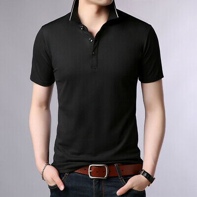 Men's Polo Shirt Short Sleeve Cotton Shirt Summer Tops&Tees Homme Camisa Men