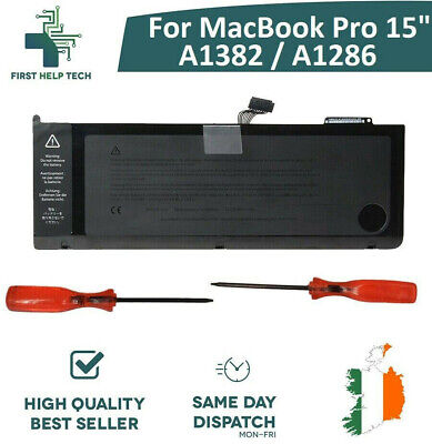 "For Apple MacBook Pro Unibody 15"" A1286 Genuine Battery 2011 2012 Year A1382 New"