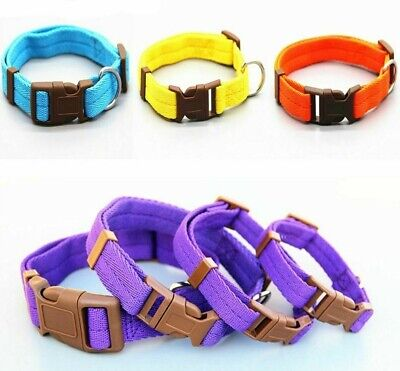 Pets Collar For Dog Cat Breakaway Quick Release Adjustable Durable Solid Fashion