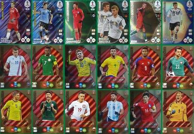 Panini FIFA World Cup Russia 2018 - Icon / Top Master / Limited - cards choice