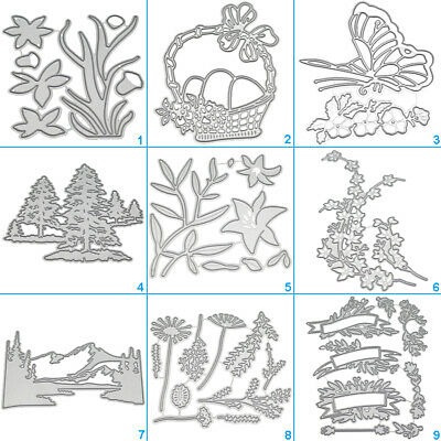 Happy Box Bag Cutting Dies Metal Stencil DIY Scrapbooking Album Card Embossing