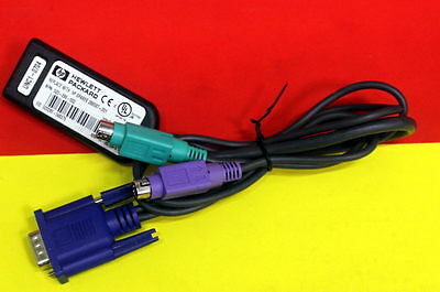 HP PS/2 KVM IP CAT5 Interface Adapter Cable 286597-001 520-290-002 18xAvailable
