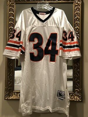 fe18be768fe Mitchell & Ness 1985 Chicago Bears Walter Payton # 34 Throwback Jersey Sz.  58