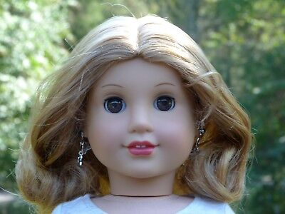 WIG off JLY #21 American Girl Doll Parts Repair Custom Strawberry Blonde Red TLC