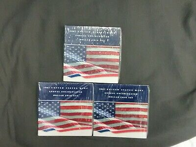 2007 (sealed) United States Annual Uncirculated Dollar Coin Set w/ Silver Eagle