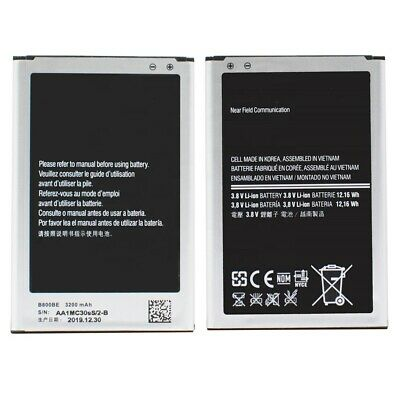 Akku für Samsung Galaxy Note 3 N9005 N9006 Batterie B800BE 3200 mAh