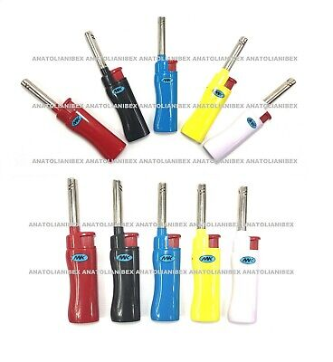 10 Big Size MK CANDLE TORCH Lighters Windproof Refillable Pipe BBQ Grill Lighter