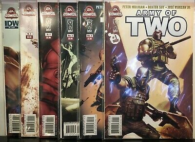Army of Two #1-6 Complete Set NM- 1st Print EA Comics