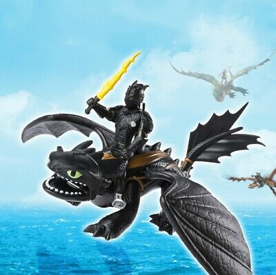 2019 How to Train Your Dragon 3 PVC Figure Toys Hiccup Toothless light fury