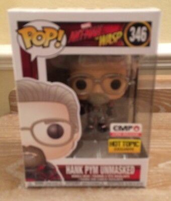 Funko Pop! Marvel Ant-Man And The Wasp Hank Pym Unmasked Excl (Read Description)