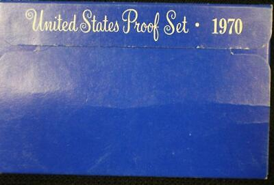 1970-S UNITED STATES PROOF COIN SET - SMALL DATE CENT RARE Original Packaging