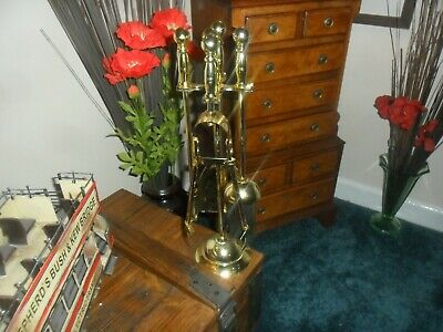 Gold  Collectable Companion Set 16Ins Tall