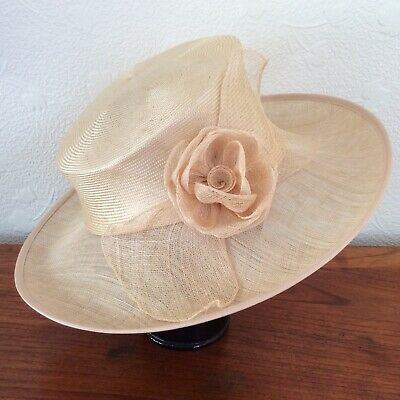 Suzanne Bettley Straw Hat Special Occasion VGC