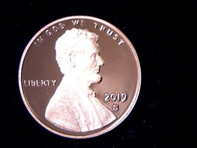 2019 S Proof Lincoln Shield Cent Penny *free Shipping* In Stock