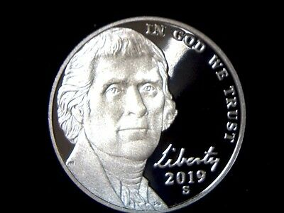 2019 S 5C Proof Jefferson Nickel **FREE SHIPPING**