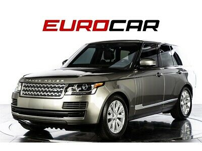 2017 Range Rover HSE Td6 2017 Land Rover Range Rover HSE Td6  GREAT OPTIONS! IMMACULATE!! DIESEL!!