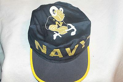 new style 25a37 5d579 Navy Midshipmen Hat NCAA Painters Cap Vintage New Old Stock 1980s