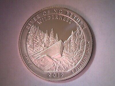 2019 S 25C Proof River of No Return Idaho State Quarter FREE SHIPPING