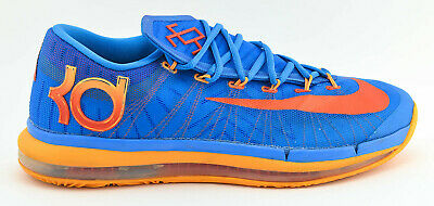 sale retailer aefeb 1f277 Mens Nike Kd Vi 6 Elite Basketball Shoes Size 11.5 Mango Orange Blue 642838  400