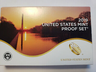 2019 S US Mint Proof Set - 10 Coins * Does Not Include Extra W Cent * In Stock!
